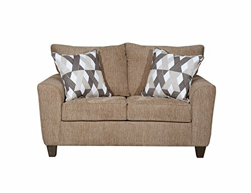 Lane Home Furnishings Loveseat, Reed Tan