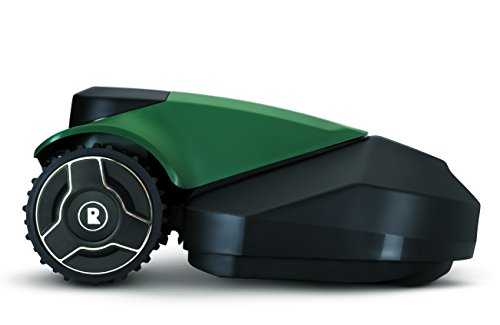 Robomow RS612 Battery Powered Robotic Lawn Mower Small Yard, 22 inch Cutting Width, Green