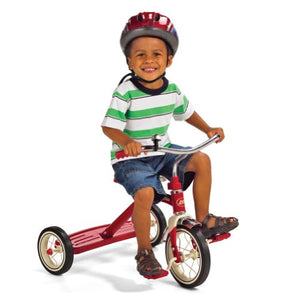 "Radio Flyer Classic Red 10"" Tricycle for Toddlers ages 2-4 (34B)"