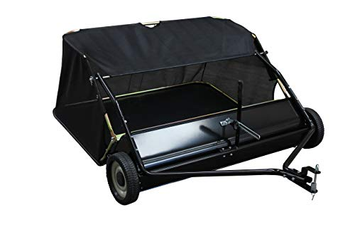 "Yard Commander 48"" Tow Behind Lawn Sweeper"