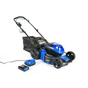 Kobalt 40-Volt Brushless Lithium Ion 20-in Cordless Electric Lawn Mower (Battery Included)
