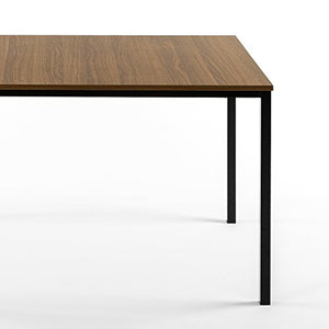 Zinus Dessa Modern Studio Collection Soho Dining Table / Office Desk / Computer Desk / Table Only, Brown