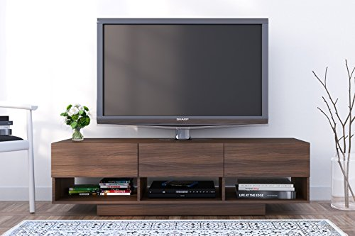 Nexera Rustik 3 Drawers TV Stand, 60