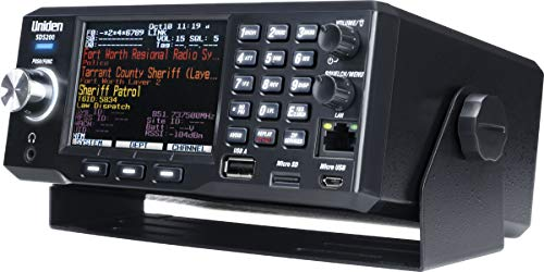 Uniden SDS200 Advanced X Base/Mobile Digital Trunking Scanner, Incorporates The Latest True I/Q Receiver Technology, Best Digital Decode Performance in The Industry