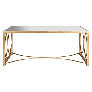 Safavieh Home Collection Melosa Gold Coffee Table