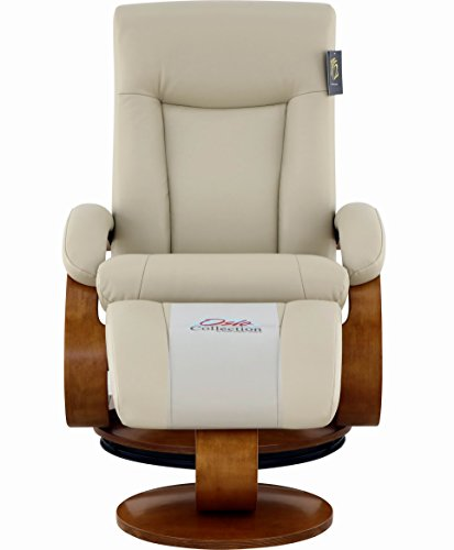 Comfort Chair Hamar Recliner, Cobblestone/Walnut