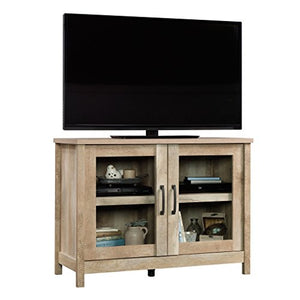 "Sauder Cannery Bridge Display Cabinet, For TV's up to 42"" Lintel Oak finish"