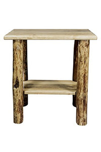 Montana Woodworks Glacier Country Collection Chairside Table