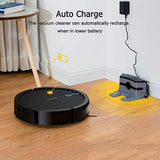 COSTWAY Robot Vacuum,Smart, Super Quiet Self-Charging Robotic