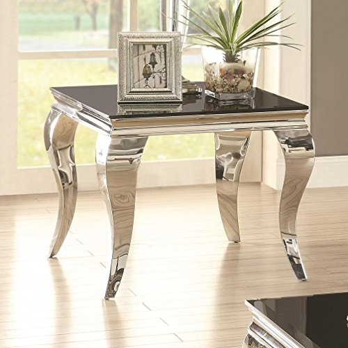 Coaster Home Furnishings End Table, Black