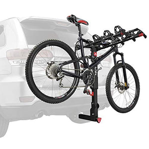 "Allen Sports Premier Locking Quick Release 4-Bike Carrier for 2"" Hitch, Model QR545"