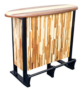 RIO Innovations Indoor/Outdoor Classic Woody Surf Wood Bar