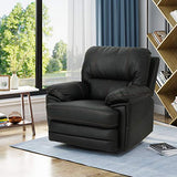 Christopher Knight Home Laurent Swivel Power Recliner, Black