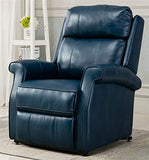 Comfort Pointe Traditional Lift Chair in Navy Blue