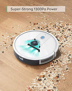 eufy by Anker, BoostIQ RoboVac 15C, Wi-Fi, Upgraded, Super-Thin, 1300Pa Strong Suction, Quiet, Self-Charging Robotic Vacuum Cleaner, Cleans Hard Floors to Medium-Pile Carpets