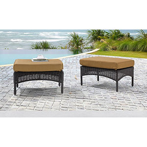 Hanover SMAR-6PC-TAN San Marino 6 Piece Patio Set, Country Cork Outdoor Furniture