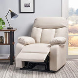 Christopher Knight Home Quade Fabric Lift Up Chair, Light Beige