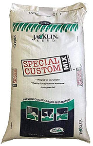 Jacklin Seed - Ideal Shade - 40% Creeping Red Fescue, 20% Chewings Fescue, 30% Kentucky Bluegrass, 10% Perennial Ryegrass | Certified Grass Seed (50 lbs (10,000 sq ft))