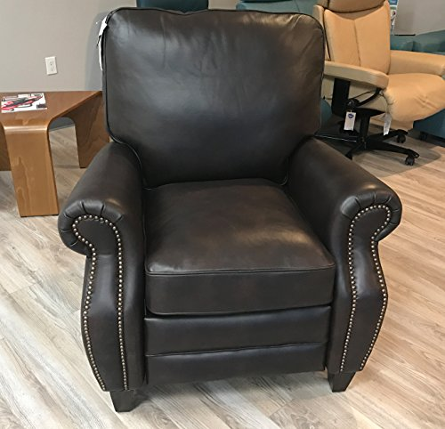 BarcaLounger Briarwood 7-4490 Recliner Chair - Aston-Chocolate 5442-86 All Leather