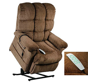 Windermere Burton NM1650 Power Lift Chair Recliner Infinite Position with Trendelenburg by Mega Motion - NutMeg In-Home Delivery