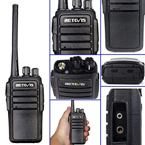 Retevis RT21 2 Way Radios Long Range Two-Way Radios 16CH VOX Scan Squelch Rechargeable Walkie Talkies Adult (20 Pack)