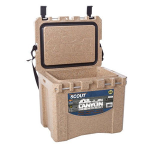 CANYON COOLERS Scout 22 Quart Adventure Cooler-Sandstone