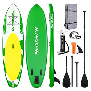 MaxKare Inflatable Paddle Board SUP Stand Up Paddle Board 6 inches Thick Board with SUP Accessories & Carry Bag & Fast Pumping for Adults & Youth for Paddling Surfing Fishing Yoga