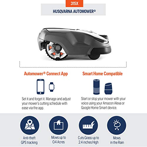 Husqvarna AUTOMOWER 315X Robotic Lawn Mower