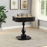 BOWERY HILL Game Table in Black