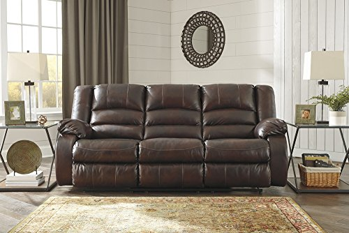 Signature Design by Ashley Levelland Reclining Power Sofa Cafe