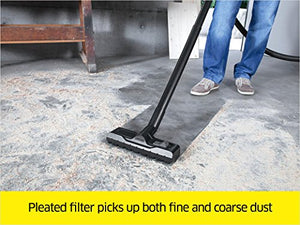 Karcher WD5/P Multi-Purpose Wet Dry Vacuum Cleaner with Semi-Automatic Filter Cleaning, Space-Saving Design