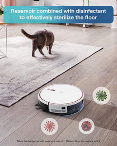 Yeedi K700 Robot Vacuum, 2 in 1 Robotic Vacuum Cleaner Mopping, 2000Pa Powerful Suction, Smart Navigation, Quiet and Self-Charging Robotic Vacuums, Ideal for Pet Hair, Carpets, Hard Floors