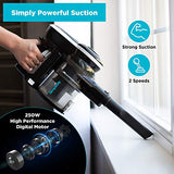 Cordless Vacuum Cleaner 2 in 1, Simplicity Lightweight Vacuum Cleaner for Hardwood Floors and Carpet