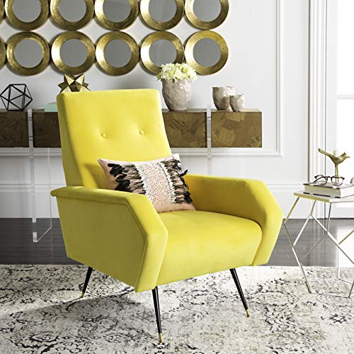 Safavieh Accent Chair, Normal, Yellow