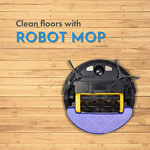 Smart Vacuum Pro WiFi Robot w/Floor Mopping, Built-in Gyroscope, Virtual Walls, Compatible with Alexa and Google Assistant