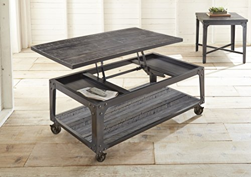 Steve Silver Lift Top Cocktail Table with Casters
