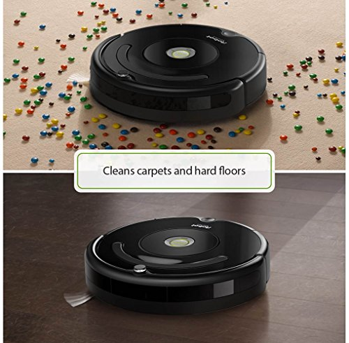 iRobot Roomba 675 Robot Vacuum with Dual Mode Virtual Wall Barrier (2-Pack)