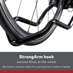YAKIMA - SingleSpeed Lightweight Single Bike Tray Hitch Rack, 1 Bike Capacity