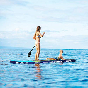 "Airgymfactory Inflatable Stand Up Paddle Boards Premium SUP Accessories & Carbon Fiber Adjustable Paddle & Inflation and Deflation Double Action Bravo Pump 10'/10'6""/12'6"" (10'6""x 32"" Yellow)"