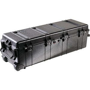 Pelican Long Black Wheeled Black Case - No Foam 1740-001-110