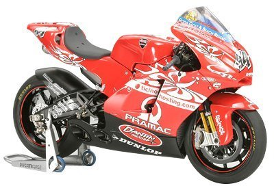 1/12 Scale Team D'antin Pramac Ducati GP4 Motorcycle Series by Tamiya