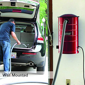 VacuMaid GV50RPRO Professional Wall Mounted Garage and Car Vacuum with 50 ft. Hose and Tools