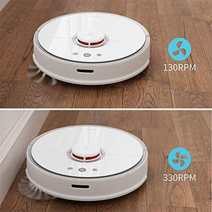Roborock S5 Robotic Vacuum and Mop Cleaner, 2000Pa Super Power Suction &Wi-Fi Connectivity and Smart Navigating Robot Vacuum with 5200mAh Battery Capacity for Pet Hair, Carpet & Hard Floor (Renewed)
