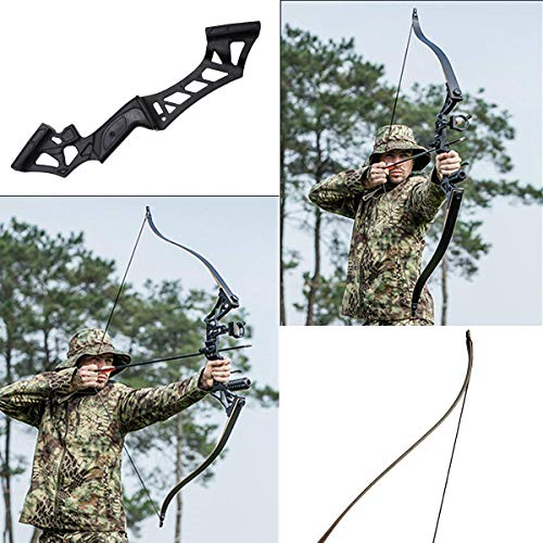 "SinoArt Falcon 60"" Takedown Hunting Recurve Bow Metal Riser 30 35 40 45 50 55 60 65 70 Lbs Black/Camo Right Handed"