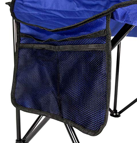 4-Pack Coleman Camping - Lawn Chairs with Built-in Cooler, Blue | 4 x 2000020266