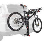 Premier Locking Quick Release 3-Bike Carrier for 2 in. and 1 1/4 in. Hitch, Model QR535