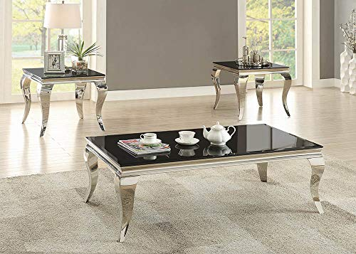 Coaster Home Furnishings Coffee Table, Black