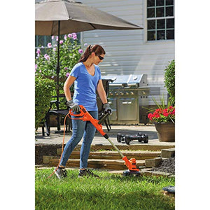 "BLACK+DECKER BESTA512CM 12"" 3in1 Compact Electric Lawn Mower (Renewed)"