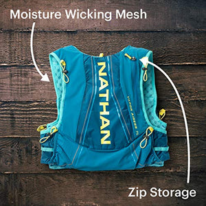 Nathan Women's Hydration Pack/Running Vest - VaporAiress 7L Capacity with 2.0 L Water Bladder Included, Hydration Backpack - Running, Marathon, Hiking, Outdoors, Cycling and More