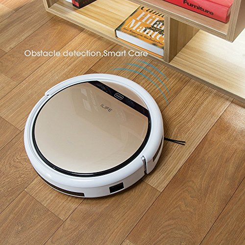 ILIFE V5s Robot Vacuum Cleaner with Water Tank Mopping,Gold
